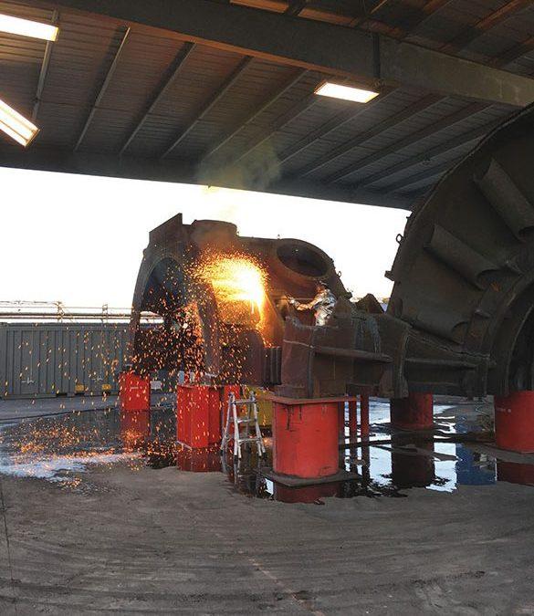 UniTech Decontaminates 1.6 Million Lbs. of DC Cook Turbine Components