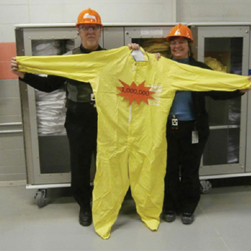 OPG Pickering Celebrates One Millionth Anti-C Coverall Processed Since 2004