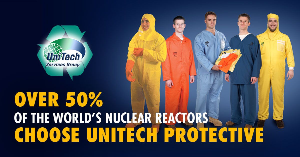 UniTech Services Group is a Leading Provider of Nuclear Protective Equipment 1